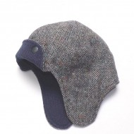 Tweed Aviator Hat
