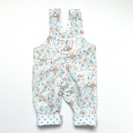 Seascape Reversible Organic Cotton Dungarees