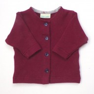 Burgundy Cardigan - New for A/W