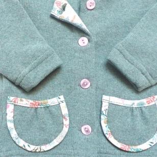 Sage Cardigan with pockets