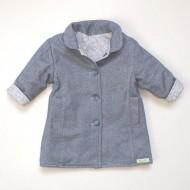 Blue Leaf Reversible Coat