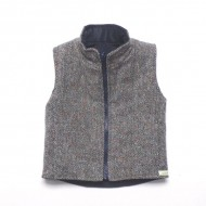 Tweed Reversible Gilet