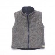 Tweed Reversible Gilet