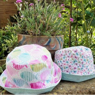 Coral Fish Hat