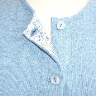 Aqua Blue Cardigan