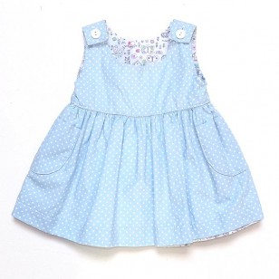 Bicycle Pinafore Dress