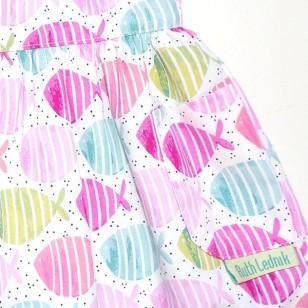 Fish Pinafore Dress
