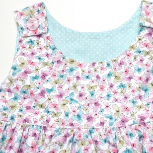Butterfly Pinafore Dress