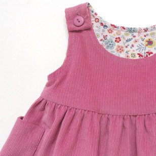 Winter Meadow Reversible Pinafore - New for A/W