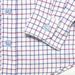 Clasic  Blue Red Check Shirt